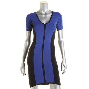 Torn by Ronny Kobo Caterina Dress Blue/Black